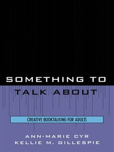 OverDrive eBook: Something to Talk About
