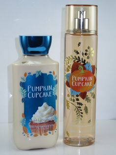Bath & Body Works Pumpkin Cupcake Fragrance