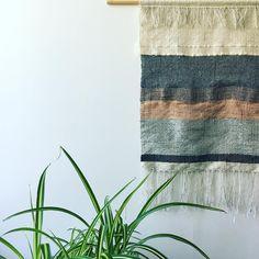 Handwoven wall hanging #handwoven #wallart #walldecor #wallhanging #copper #contemporarytextiles #weaversofinstagram #weave #abstraction