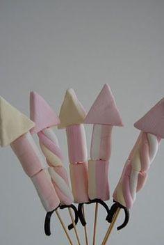 Marshmallows raketer