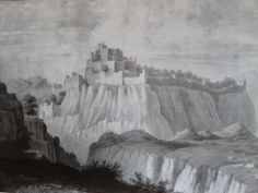 A rare illustration of Kangra fort. travelngossip.blogspot.in/2013/10/rare-and-ancient-photos-interesting.html