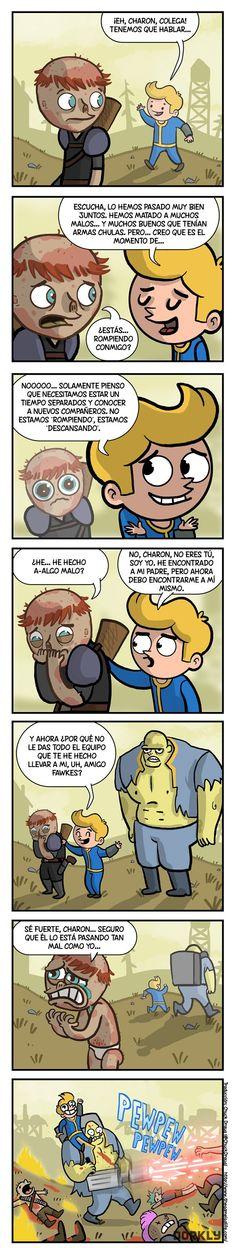 La efímera amistad en Fallout.