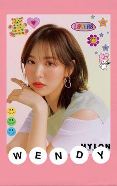 Kpop Girl Groups, Kpop Girls, Polaroid Decoration, Arte Alien, Overlays, Velvet Wallpaper, Kpop Diy, Red Valvet, Kpop Posters