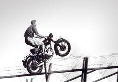 "Steve McQueen in ""The Great Escape"""