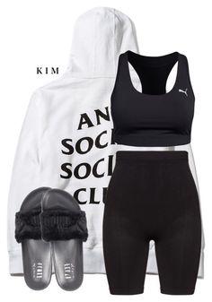 Untitled #3091 by kimberlythestylist on Polyvore featuring polyvore, fashion, style, Zhenzi, Puma and clothing
