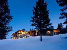 Butte Residence: An invigorating mountain home in Wyoming