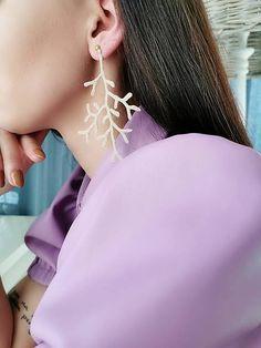 Koraly / KatarinaKondacova - SAShE.sk - Handmade Náušnice Earrings, Handmade, Jewelry, Fashion, Ear Rings, Moda, Stud Earrings, Hand Made, Jewlery