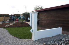 Mur en l pr fabriqu pour cl ture finition pierre s che en b ton arm murs de sout nement for Maison prefabriquee definition
