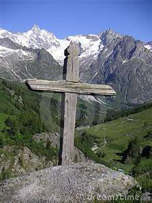 Rustic cross in the mountains. Often very thought provoking. #refreshgiftshop