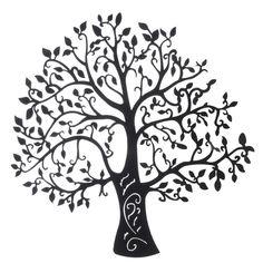 murales de arboles en blanco y negro - Buscar con Google
