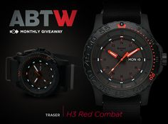 """Traser H3 watches Red Combat Watch  """"As a watch lover you may not have heard as much about Traser watches as you should have. The brand has been selling durable professional-use timepieces mostly to law enforcement, military, and other active professionals that need highly reliable timekeepers. Traser is actually part of MB Microtec - the Swiss company that produces all the Tritium gas tubes you'll find in watches..."""""""