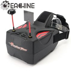 Eachine Goggles Two 5 Inches 5.8G Diversity 40CH Raceband HD 1080p HDMI FPV Goggles Video Glasses  #headphones #easy #apparel #uniquegadgets #spinner #Trymetechnologies@gmailCom #awesome #techy #trymetech #cute