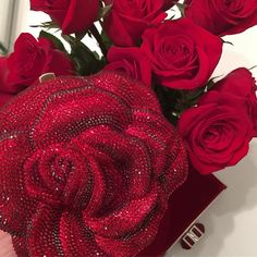 """29 Likes, 1 Comments - JanaMatheson (@jana.matheson) on Instagram: """"#Redroses, #Red #Rose and a  #redvelvet Lupita. #valentinesday #everything❤❤❤#cliche"""""""