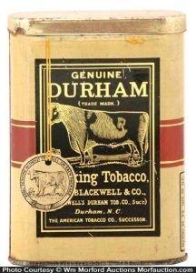 Durham Tobacco Tin