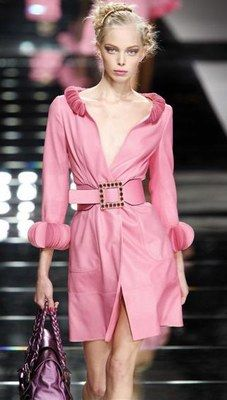 VERY feminine #pink trench by Valentino..