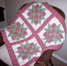 Crochet For Children: Baby Blocks Crochet Quilt - Free Pattern