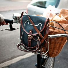 each cycle lady needs a handbag hugger (http://www.cyclechic.co.uk)