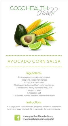 Avo and Corn Salad