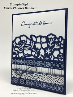 Floral Boutique Product Suite! Gorgeous Card with Step by Step...
