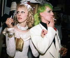 Photo Nan Goldin: 1987 Greer Lankton & Paul Monroe- Wedding Night NYC  Greer Lankton Archives Museum channelGLAM@facebook