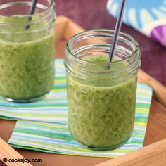 Healthy smoothie with spinach banana and strawberry