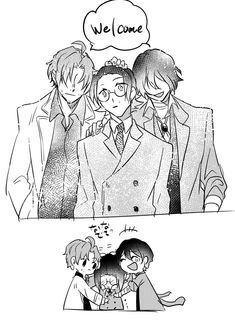If only Ango didn't betray PM, Oda didn't die and Dazai left PM willingly, would this happen? Dazai Bungou Stray Dogs, Stray Dogs Anime, Fairy Tail Pictures, Satsuriku No Tenshi, Dazai Osamu, Cute Girl Photo, Detective, Dog Boarding, Manga Games