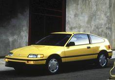 1988 Honda CRX. (Photo courtesy Larry Printz, The Virginian-Pilot)