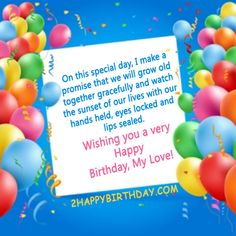 It's your wife birthday today? Here we have come up with some fantastic birthday wishes to your wife Very Happy Birthday, Happy Birthday Images, Birthday Wishes Messages, Growing Old Together, Wife Birthday, Daughter Of God, Special Day, My Love, Sweet