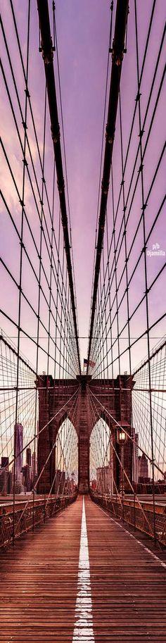 Brooklyn Bridge - New York City by Dan Piech