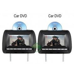 7 inch Headrest Car DVD player(FM,Game,1 Pair)-1