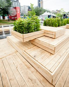 For the second year in a row, Tuxedo designed and created a LARGE RUNWAY TERRACE for the 2014 Montreal Fashion and Design Festival, in collaboration with the Quebec Forest Industry Council, at the Festival's new location at Place des Festivals, right in the heart of the Quartier des spectacles.