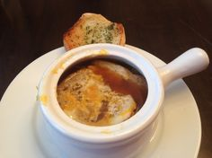 Super Easy French Onion Soup - A few simple ingredients make this soup a crowd pleaser every time.
