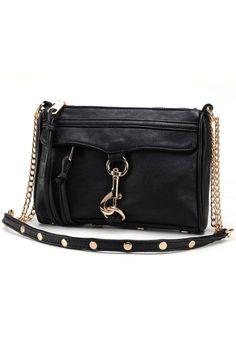 Easy Studded PU Bag - OASAP.com