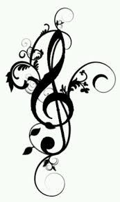 Treble clef tatoo i want on the left side of my back in brown also. Lena Tattoo, Tatoo 3d, I Tattoo, Tattoo Hand, Ankle Tattoo, Music Tattoos, Body Art Tattoos, Cool Tattoos, Black Heart Emoji