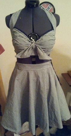 Rockabilly Pinup Custom made 50s Halter by SouthernVintageStore, $99.99