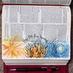 Keep the Fire Burning. Draw Close Blog. 1 Corinthians 13:11, air, ashes, bible, bible art, bible journal, bible journaling, bible study, breath of God, burn, Christian blog, ember, fire, flames, fuel, heat, Holy Spirit, ignite, Leviticus 6, Leviticus 6:8-13, maturity, warmth, wood burner