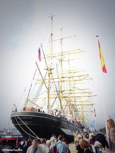 #Toulon Harbor.Vessel Kruzenshtern #Var #leVar #TSR2013 #MTSR2013