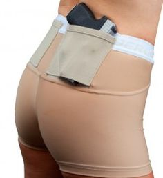 """The UnderTech UnderCover """"SHORT SHORTS"""" are now available due to popular demand by our Federal Law Enforcement customers. These professional women asked for a design that would allow them to wear shor"""