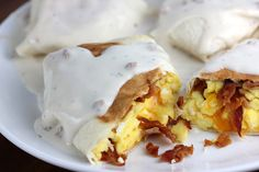 Smothered Breakfast Wraps Recipe - Free Online Recipes | Free Recipes