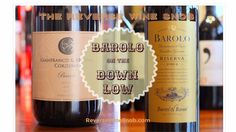The Reverse Wine Snob: Barolo on the Down Low - Two Tastes of Barolo on the Cheap. Shh, don't let the secret out...true Barolo for around $20 via Trader Joe's and Naked Wines!  http://www.reversewinesnob.com/2015/03/barolo-on-the-down-low.html