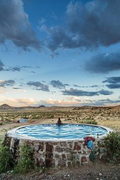 My favorite place is the stone tank on my family ranch, where I've made a home, on the side of a rocky hill, halfway between Marfa and Fort Davis.