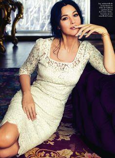 bohemea:  Monica Bellucci - Elle Spain by Juan Aldabaldetrecu, May 2013