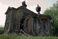 Wooden сhurch of St. Prophet Elisha is located in a deserted village Yakovlevskaya of Podporozhsky area (Leningrad oblast) on the shore of Lake Sidozero. The church built in 1899.