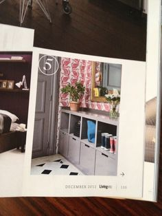 Wow!  Our entryway was just featured in Living Etc's December Issue, under '25 Great Storage Solutions'