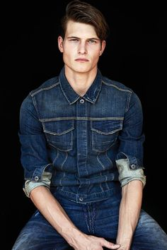 buttoned and rolled - Denim #mizustyle