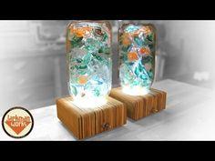 Eiszeit/ice age Lichtskulptur light sculpture resin ToSaLignea - YouTube