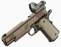 Kimber 1911 with Deltapoint MOS Find our speedloader now! http://www.amazon.com/shops/raeind