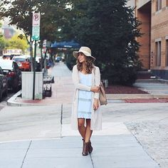 Wishing I was at #NYFW but I'm just here in my back yard. What's with all these people saying they choose not to go to fashion week!? I'd DIE to go! I'm sure it is what you make of it but HOW can drinking fabulous cocktails while wearing gorgeous outfits and observing jaw dropping street style be bad!? I'll just keep on hustling and stylin' here on the streets of DC until I get to go. Or you can just give me your ticket 😉. Outfit details here↪️ @liketoknow.it  but the booties are…