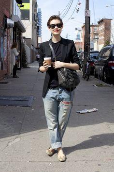 #topshop #denim #streestyle #DIY #boyfriend's #jeans
