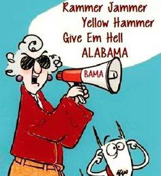 Give em hell Bama!!
